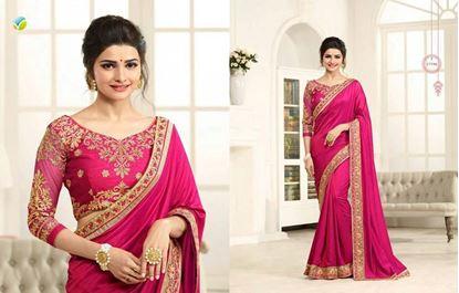 Picture of Original Indian Silk Satin Mejenda