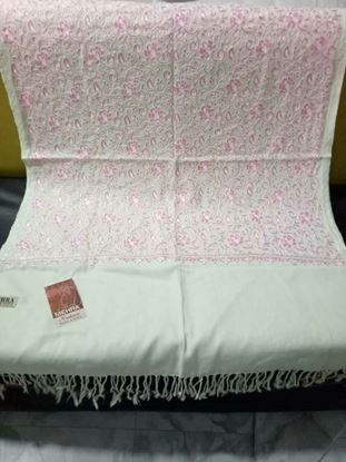 Picture of Original Kashmiri Shawls For Women-Pink