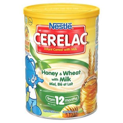 Picture of Nestle Cerelac Honey And Wheat Baby Food 1Kg