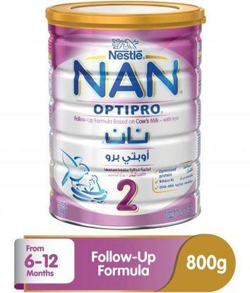 Picture of Nestle Nan 2 Optipro Follow-up Formula Milk - 800g Tin
