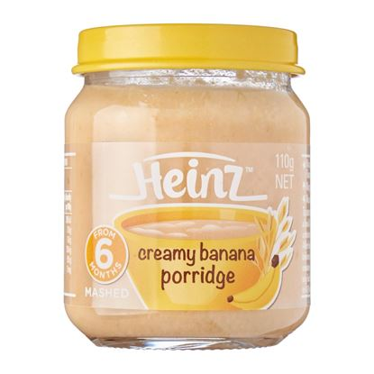 Picture of Heinz 6+ Months Creamy Banana Porridge 110 gm