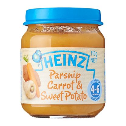 Picture of Heinz  4-6 Months Parsnip Carrot and Sweet Potato Baby Food