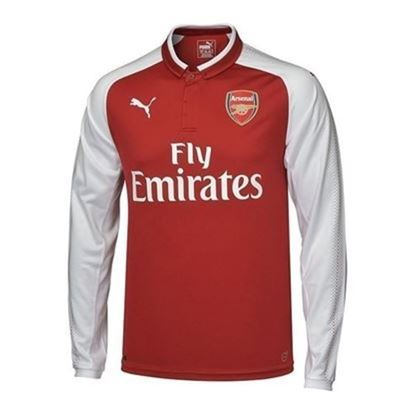 Picture of 2017/18 Arsenal Home Full Sleeve Exclusive Jersey