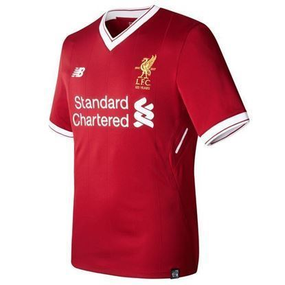 Picture of 2017-18 Liverpool Home Half Sleeve Exclusive Jersey