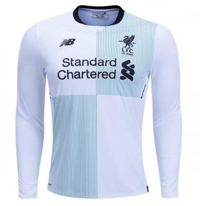Picture of 2017/18 Liverpool Away Full Sleeve Jersey