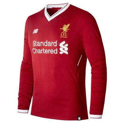 Picture of 2017-18 Liverpool Home Full Sleeve Jersey