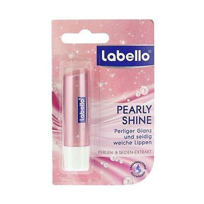 Labello Pearly Shine Lip Balm for Women - 5.5ml