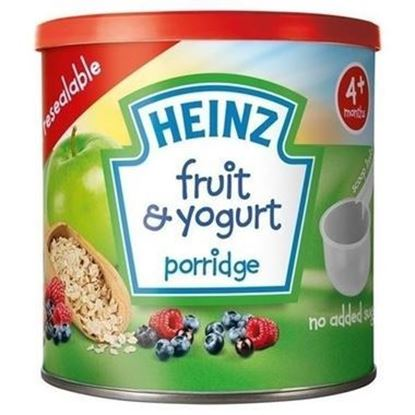 Picture of 4+Months Heinz Fruit & Yogurt Baby Porridge-240gm