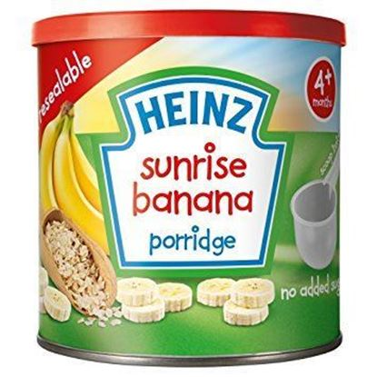 Picture of 4+Months Heinz Sunrise Banana Porridge- 240gm