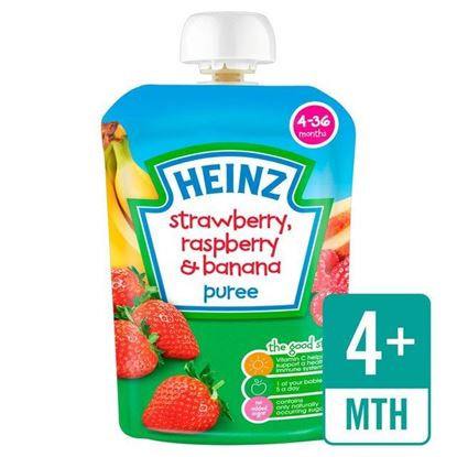 Picture of Heinz Strawberry, Raspberry and Banana Puree