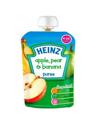 Picture of Heinz Apple Pear & Banana Puree [4 – 36 months] 100g (UK)