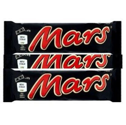 Picture of  Mars Chocolate Bars 3-Pcs