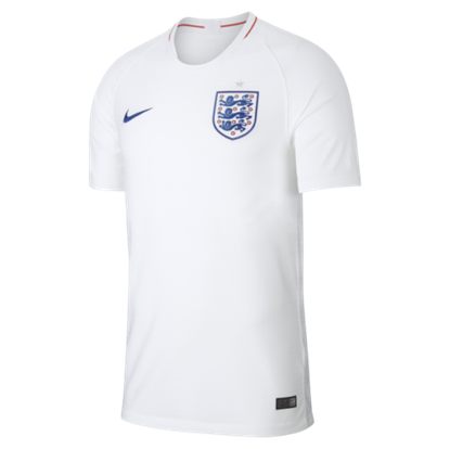 Picture of England  Home World Cup Short Sleeve Jersey 2018 - Yellow