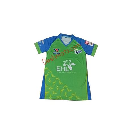 Picture of BPL Sylhet Sixers Half Sleeve Jersey 2019 - Green