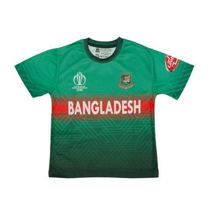 Picture of Bangladesh Home Cricket Jersey For Kids World Cup 2019