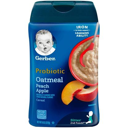 Picture of Probiotic (Oatmeal_Peach_Apple) -227gm
