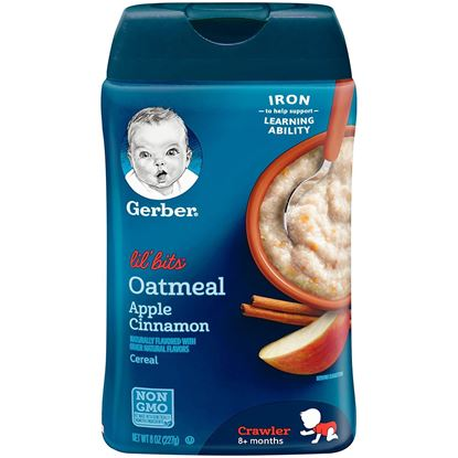 Picture of Baby Cereal Oatmeal Apple Cinnamon - 227Gm