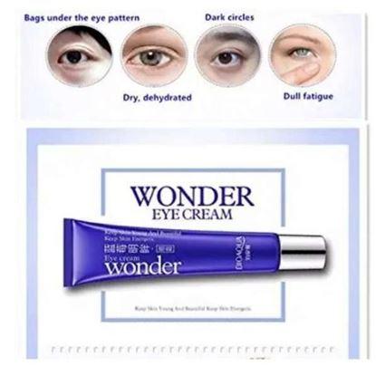 Picture of Bioaqua Wonder Eye Cream ing Dark Circle Remover Eye Maske Smooth Fine Lines Moist Shrink Pores Eye Skin Care