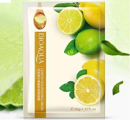 Picture of Bioaqua Lemon Nourishing Pore Sheet - 30g