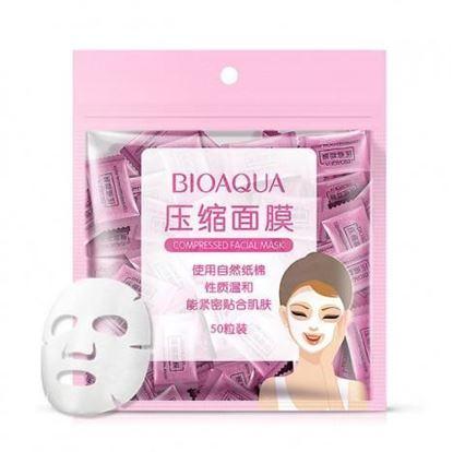 Picture of BIOAQUA Compressed Dry Sheet Mask (50pcs)