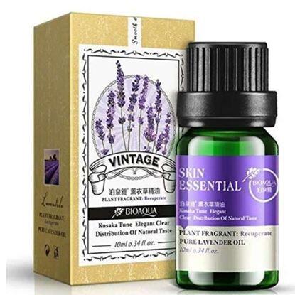 Picture of BIOAQUA Pure Lavender Rose Teatree Essential Oil Plant Fragrant Face Skin Care Liquid Perfume Anti Wrinkle Moisturizing 10ml
