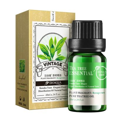 Picture of Pure Natural Plant Flowers Pure Essential Tea Tree Oil - 10 ml
