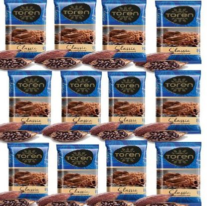 Picture of Toren Classic Compound Chocolate 12 pcs - 52g each