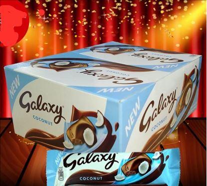 Picture of Galaxy Coconut 24pcs Box - 864gm