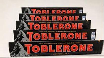 Picture of Toblerone dark 5pcs - 100g