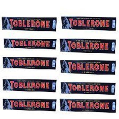 Picture of Toblerone Dark Chocolate 10pcs100g
