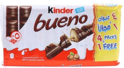 """Picture of Kinder Bueno"""" 5 pc's Pata"""